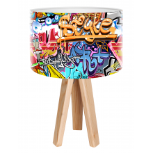 Galda lampa BPS Kids Grafitti Style mini-019