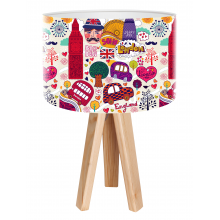 Galda lampa BPS Kids Grafitti London mini-021