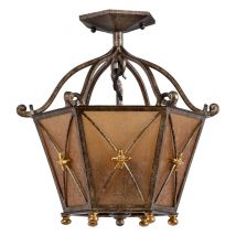 Ceiling lamp Chiaro Country 382012503