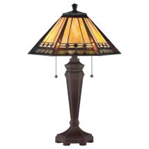 Table lamp Tiffany QUOIZEL Elstead ARDEN