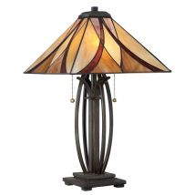 Tiffany Table lamp QUOIZEL Elstead Asheville