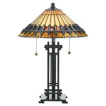 Tiffany Table lamp QUOIZEL Elstead Chastain