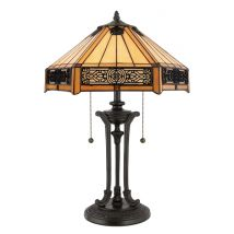 Tiffany Table lamp QUOIZEL Elstead INDUS