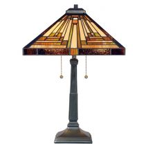 Table lamp Tiffany QUOIZEL Elstead Stephen