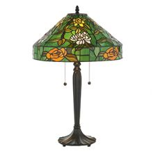 Galda lampa Interiors 1900 Tiffany Agapantha Medium table 74426