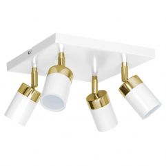 Spot lampa LUMINEX Joker white-gold 1543