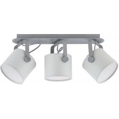 Griestu lampa TK Lighting Relax Gray LED 1333
