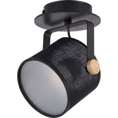 Griestu lampa TK Lighting Relax Black LED 1390