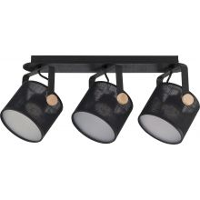 Griestu lampa TK Lighting Relax Black LED 1393