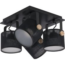 Griestu lampa TK Lighting Relax Black LED 1394