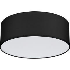 Griestu lampa TK Lighting Rondo Black 1586
