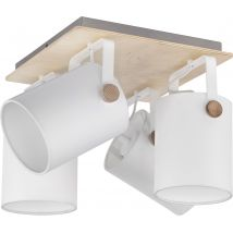 Griestu lampa TK Lighting Relax White 1615