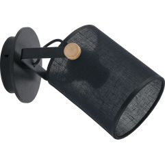 Brā-sienas lampa TK Lighting Relax Black 1780