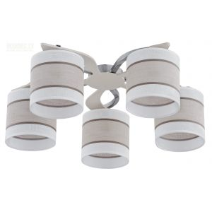 Griestu lampa TK Lighting CATTLEYA WHITE 333