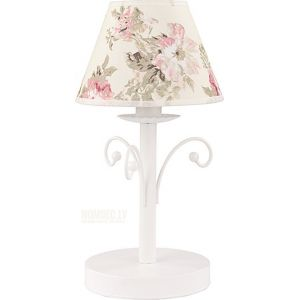 Galda lampa TK Lighting ROSA WHITE 372