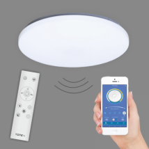 Ceiling lamp round LED RGB 2x24W 3600LM dimmable with light temperature control and with remote control SOFIA 6004000071