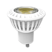 LED spuldze  - LED Spotlight - 7W GU10 SMD Plastic Warm White