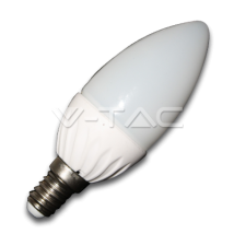 LED spuldze (svece) - LED Bulb - 4W E14 Candle Warm White