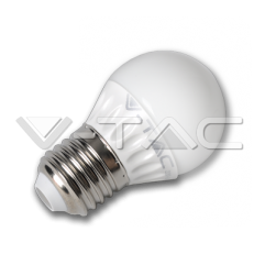 LED spuldze - LED Bulb - 4W E27 G45 Warm White