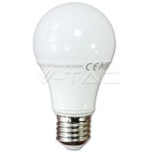 LED spuldze - 10W E27 A60 Thermoplastic Warm White Dimmable