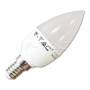 LED spuldze (svece) - LED Bulb - 6W E14 Candle Warm White Dimmable