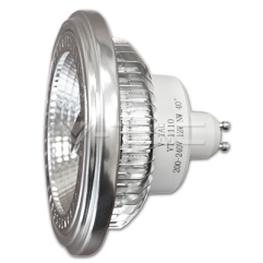 LED spuldze  - LED Spotlight - AR111/GU10 12W 200-240V Beam 40 Sharp Chip White