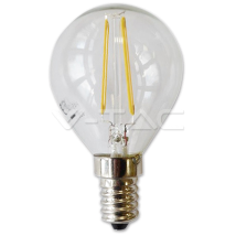 LED spuldze - LED Bulb - 2W Filament E14 P45 Warm White