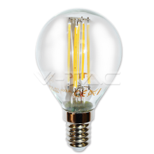 LED spuldze - LED Bulb - 4W Filament E14 P45 Warm White