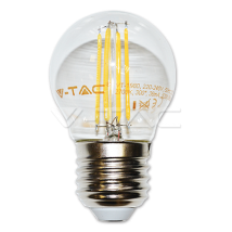 LED spuldze - LED Bulb - 4W Filament E27 G45 Warm White