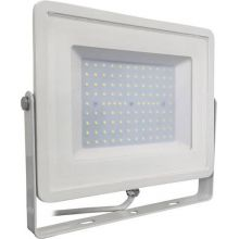 Led prožektors V-TAC 100W LED Floodlight SMD SAMSUNG CHIP White Body Warm White