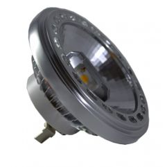 LED spuldze  - LED Spotlight - AR111 15W 12V Beam 20 Sharp Chip White