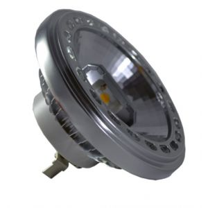 LED spuldze  - LED Spotlight - AR111 15W 12V Beam 40 Sharp Chip White