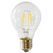 LED Bulb - LED Bulb - 4W Filament E27 A60 Warm White