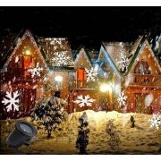 Garden LED Projector IP44 4W - Snowflakes 2813